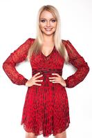 Платье красное Michael Kors весна 2016