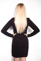 """Платье черное Michael Kors весна 16"""""""